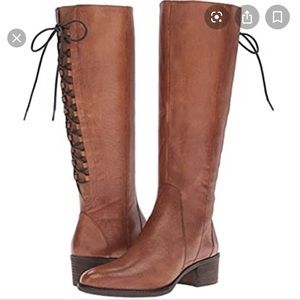 New Steve Madden Tan Leather Knee High Boots